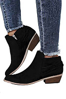 Plain Boots  Elegant Booties