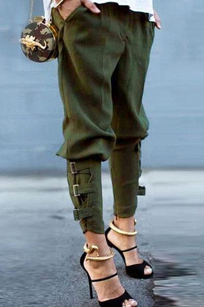 Casual fashion cargo pants