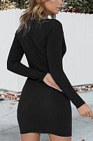 Women Plain Bodycon Dresses