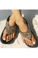 Women's thick bottom beach sandals