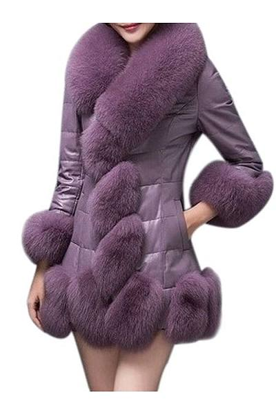 Faux Fur Chic Overcoat