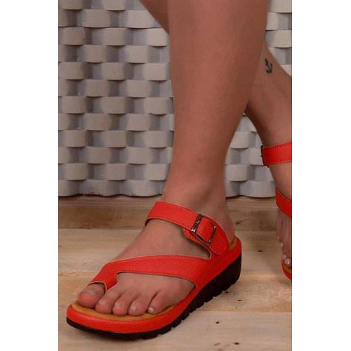 Plain  Peep Toe  Casual Travel Wedge Sandals