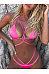 Halter  Plain Sexy Bikini