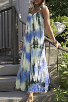 2020 Summer Tie-dye Maxi Dress
