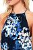 Halter  Floral Printed  Sleeveless Maxi Dresses