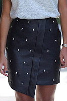 Beading  Dot  Basic Skirts