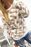 Round  Neck  Dot  Basic  Sweatshirts