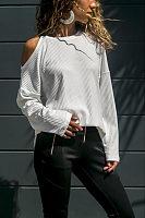 Round Neck  Plain T-Shirts