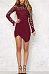 Sexy Asymmetric Hem Bodycon Dresses