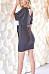 V Neck  Plain  Short Sleeve Bodycon Dresses