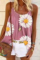 Daisy Printed Casual Camisole