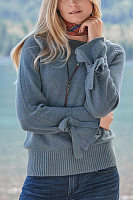 Fashionable casual knitted sweater