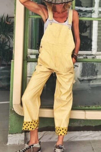 Modern Fashion Solid Color Jumpsuits