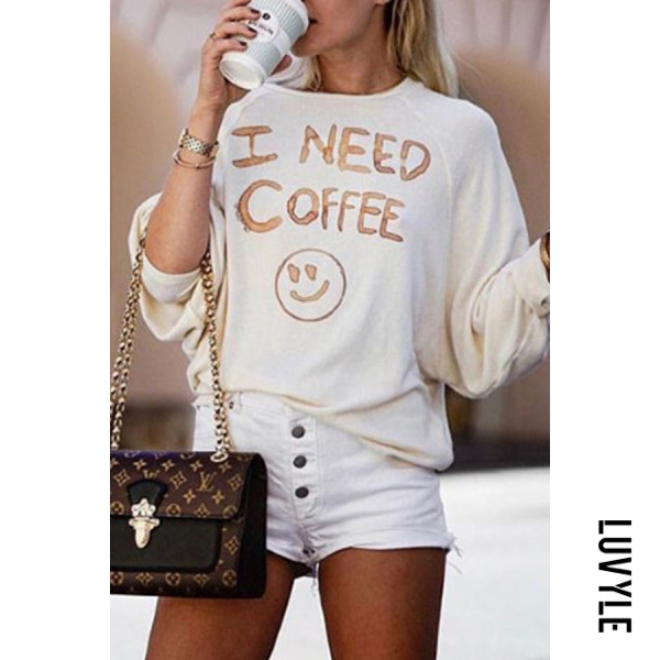 White Round Neck Batwing Graffiti Letters T-Shirts White Round Neck Batwing Graffiti Letters T-Shirts