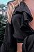 Deep V Neck  Bowknot  Bell Sleeve  Blouses