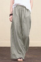 Stylish Temperament Loose Wide-leg Pants