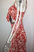 Spaghetti Strap  Backless  Printed  Sleeveless Bodycon Dresses