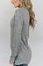 Asymmetric Neck  Zipper  Plain Sweaters