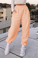 Casual Pure Color Loose Pants