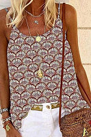 Sling Printed Casual Camisole