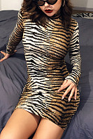 Animal Printed Bodycon Dresses
