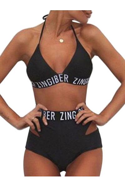 2018 NEW Swimwear Women Bandage Bikini Sexy Brazilian Biquini Bathing Suit Push Up Off Shoulder Swimsuit