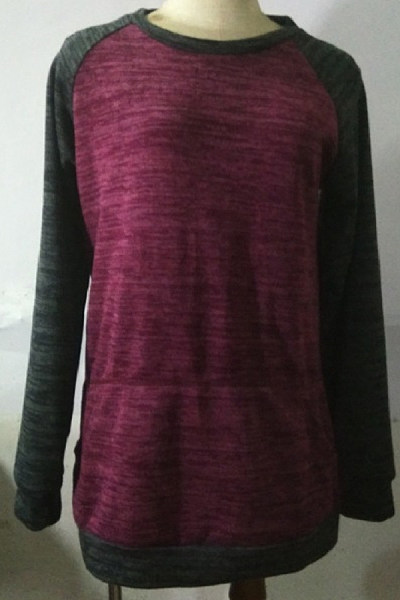 Women's Bat Sleeve Paneled T-Shirt
