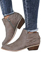 Plain Boots  Elegant Booties
