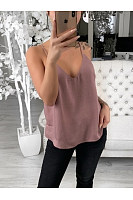 Spaghetti Straps Plain Brief Chic Camis