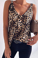 Sexy Leopard V-Neck Camis