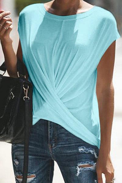 Casual Pure Clor T-Shirt