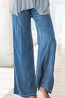 Casual thin-fit loose jeans