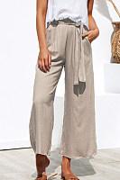 Loose Fitting  Plain Pants