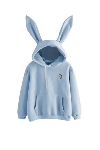 Casual Long Sleeve Cartoon Hoodies