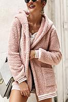 Hooded Long Sleeve Plain Outerwear