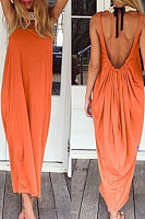 Open Back Full Length Sundress
