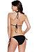 Halter Geometric Triangle Bikini