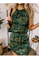 Women Camouflage Casual Dresses