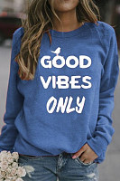 Letters Long Sleeve Sweatshirt