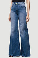 Denim Basic Plain Jeans