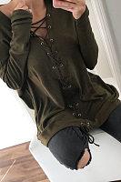 Fashion Long Sleeve Pure T Shirts
