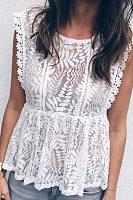 Elegant Lace Sleeveless Camis