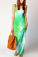 2020 Summer Tie-dye Maxi Dress
