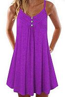 Loose V-neck camisole dress