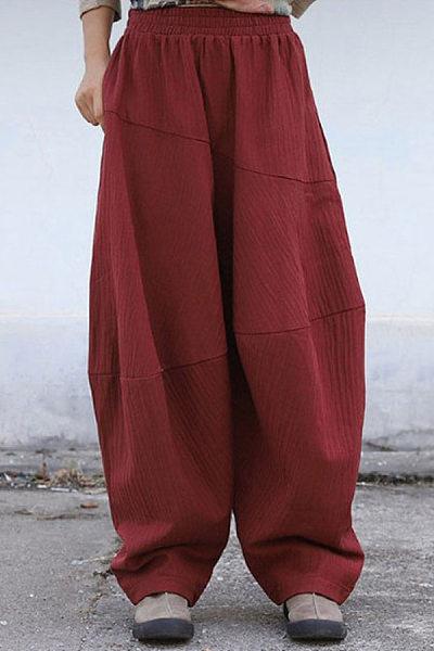 Fashion Casual Simple Loose Pants