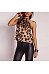 Sexy Halter Leopard Printed Fashion Camis