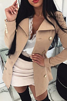 Women Fashion Plain Outerwear