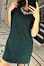 Round Neck  Asymmetric Hem  Plain  Short Sleeve Casual Dresses