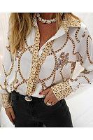 Fashion Printing Long-Sleeved Shirts
