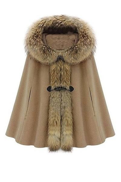 Trendy Chic Hooded Overcoat